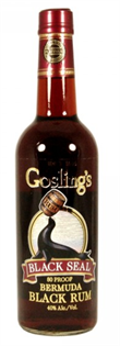 Gosling's Rum Black Seal 80 Proof 1.00l